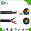 3/4core 50mm2 50sq. mm Flexible Rubber Submersible Deep Well Pump Cable