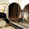 2000X45000mm Oil Heated Laminated Glass Autoclave (SN-BGF2045)