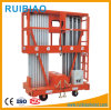 Mobile Portable Aluminum Work Platform/Hydraulic Mobile Lift Table Ce