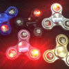 Fashionable LED Flashing Spinner with Bluetooth