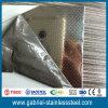 Embossed Linen Stainless Steel Sheet 316