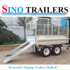 Factory Build Tandem Car Trailer for Sale