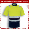 Safety Workwear Uniform Custom Made Safety Polo Shirt (ELTSPSI-12)