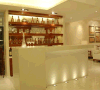 Contemporary Elegant Acrylic Solid Surface Wine Bar Counter