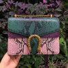 New Fashion Snake Leather Shoulder Bag Women Handbag with Chain Wholesale Price Emg5098