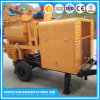Diesel Engine Portable Concrete Mixer with Pump with for Sale