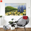 Impressionism Chrysanthemum Flowers Art Pianting with Frame