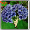 Indoor Decorative Plastic Artificial Real Touch Rose Flower