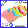 2015 Heat Resistant Silicone BBQ Gloves Cooking Oven Gloves