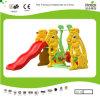 Kaiqi Cute Rabbite Toddler′s Slide and Swing Set (KQ50133J)