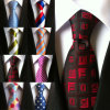 High Quality Men Silk Woven Wholesale Custom Ties (A387)