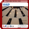 Fiberglss Acoustical Ceiling Baffle /Fiber Glass Suspended Ceiling Panel Widely Used in Commercial