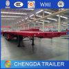 Tri-Axle 40FT Flatbed Container Semi Trailer for Sale
