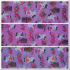 Oxford 600d Hello Kitty & Cage Printing Polyester Fabric with PVC for Bags