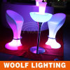 Bar Club Colored LED Lighted Stool Bar Chair Furniture
