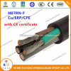 Ce Certified H07rnf H05rnf H07rrf H05rrf 3 Core 4 Core 5 Core Flexible Rubber Cable