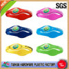 Fashion Embossed Color Filled Silicone Wristband