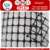 Uniaxial Plastic Geogrid by PP or Pet,