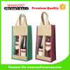 Two Bottle Wine Bag Jute Handle Bag