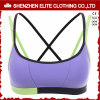 Ladies Strappy Cotton Lycra Sport Bra Cross