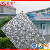 Polycarboante Solid Embossed Sheet Building Material Greenhouse Roofing Carshed