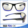 High Strength Unisex Full Frame Clear Mirrored Lens Sunglasses