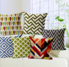 Fashion Transfer Printed Cushion Geometry Digital Printed Cushion (LCL04-395)