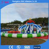 Summer Popular Inflatable Pool and Water Slide Water Park