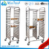 Tall Mobile Movable Gastronorm Pan Trolley for Gn Pan