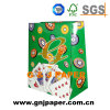 Laminated Material Art Paper Bag with Cotton Rope