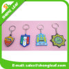 Five Colors Rubber Key Chain