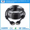 High Speed 1.5m Male to Male VGA Cable for Computer