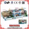 Ice Snow Theme Chidlren Soft Indoor Naughty Castle Playground