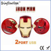 Superman Iron Man Face Design External USB Power Battery (XH-PB-138)