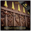 High Quality Decorative Customized Used Wrought Iron Aluminum Garden Fence Panels