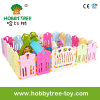2017 Plasic Baby Playpen with Game Fence for Play (HBS17072A)