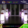 Flashing Tall Round LED Lighting LED Planter Pot