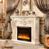 Antique Wood Hotel Furniture Heater Electric Fireplace with Ce (330B)