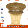 OEM Customized Military Officer Peaked Cap with 100% Polyester