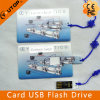 Sliding Card USB Flash Drive 1/2/4/8/16/32/64GB (YT-3109)
