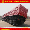 Sintruk 80t Tipping Semi Trailer Box / Tipping Trailer