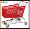 160 Liters Supermarket Plastic Shopping Cart