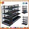 Steel Back Wire Mesh Net Display Shelving Supermarket Shelf (Zhs41)