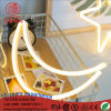 LED 4.5V Energy Saving Flex Neon Sign Half Moon Wall Night Light for Kid Bedroom Decoration