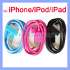 Colorful Charger Cable for iPhone USB Data Cable