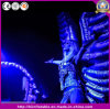 New Brand Event Performance Inflatable Parade Costumes Inflatable Silver Angle Wings