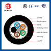 Outdoor Optical Cable 6 Core Single Mode Fiber G Y F T A for Communication