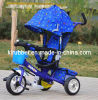 2014 Metal Frame Baby Tricycle with Canopy and Safety Belt