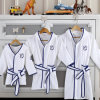 Cotton White Velour Children Bath Robes for Kids