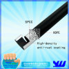 Black ABS Coated Pipe in Pipe and Joint System
